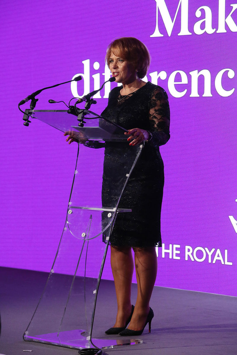 Lorraine Heggessey Speaking about Making a Differerence at The Royal Foundation